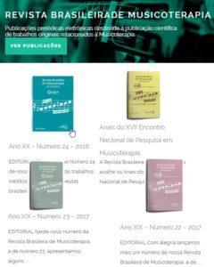 ACAMT - Link Revista Brasileira de Musicoterapia