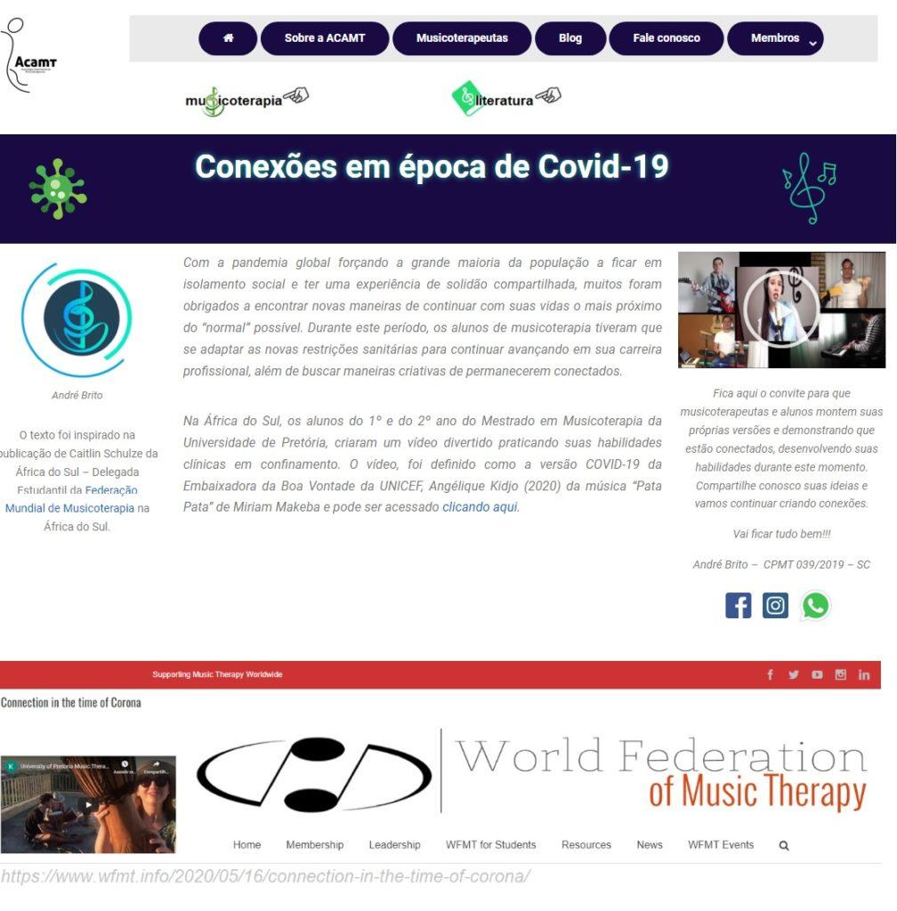 WFMT Conexões em tempos de Covid-19