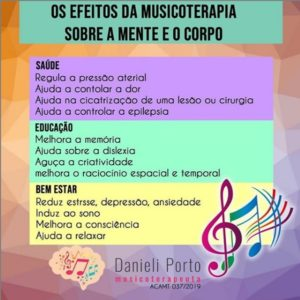 Musicoterapeuta Dani Porto - Lages SC